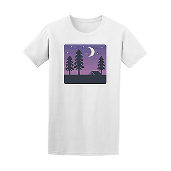 Night Time Forest Design Tee - Image by Shutterstock