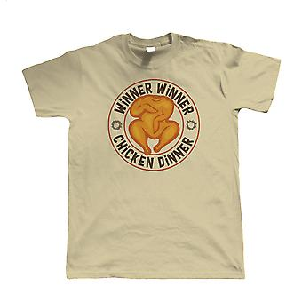 Vinder vinder Kylling Dinner, Herre PUBG T Shirt