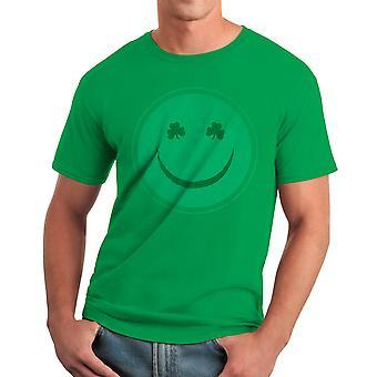 Humor glada irländska män Kelly Green rolig T-shirt