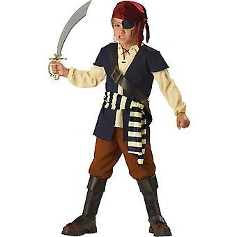 Pirate Mate Jack Sparrow Captain Hook Toddler Boys Costume