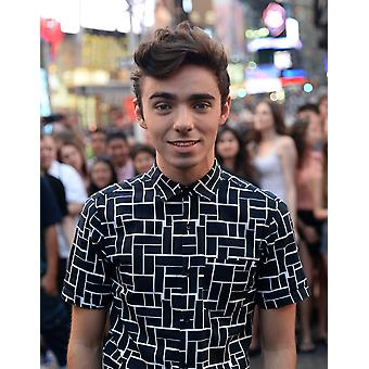Nathan Sykes On Location Video Shoot In Times Square Out And About For Celebrity Candids - Fri  New York Ny July 24 2015 Photo By Eli WinstonEverett Collection Celebrity