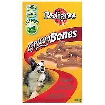 Pedigree Gravy Bones Original Dog Treats  400g pack of 12