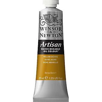 Winsor & Newton Artisan vatten Mixable Oil Colour 37ml (744 gul ockra S1)
