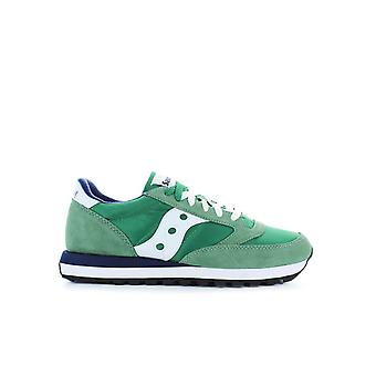 SAUCONY ORIGINALS JAZZ GREEN/WHITE SNEAKER
