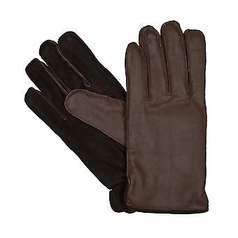 LLOYD Herre handsker handsker ged læder ruskind beige 6447