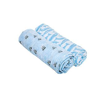 Bebe Au Lait Muslin Swaddle Blankets - Set of 2