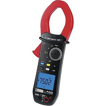 Chauvin Arnoux F403 Clamp meter, Handheld multimeter Digital Calibrated to: Manufacturer's standards (no certificate) C