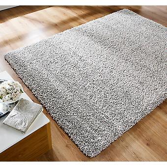 Alfombras Athena plata rectángulo alfombras llano casi llanos