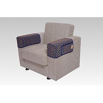 Armrest saver seat saver blue some 40 x 55 cm 2 pockets
