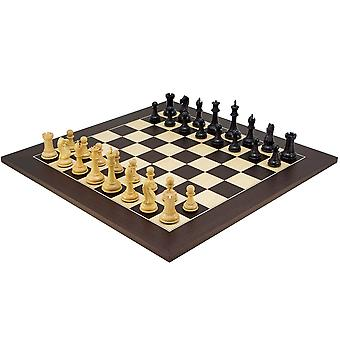 Oxford Series Black & Wenge Chess Set