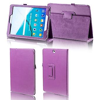 For Samsung Galaxy tab S4 10.5 T830 T835 purple faux leather case cover pouch case new