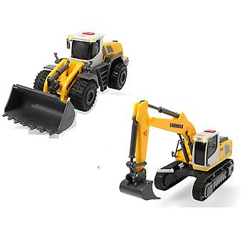Dickie Toys Liebherr Workforce Construction Toys - 1 Supplied
