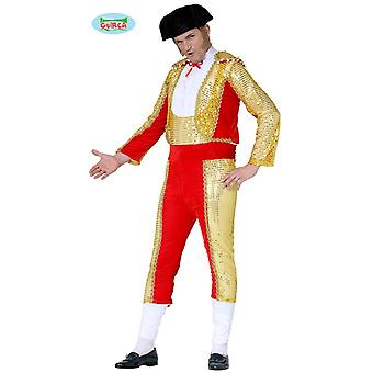 Torero Bull fighter costume for men Carnival Carnival arena battle Bull