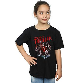 Michael Jackson Girls Thriller Ghouls T-Shirt