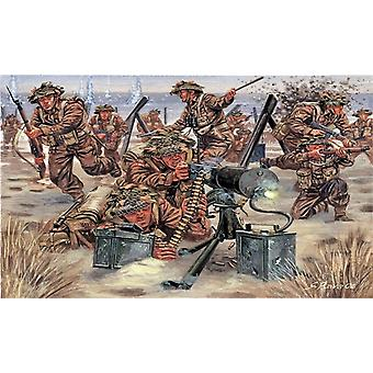 Italeri 1/72 WWII infanterie britannique