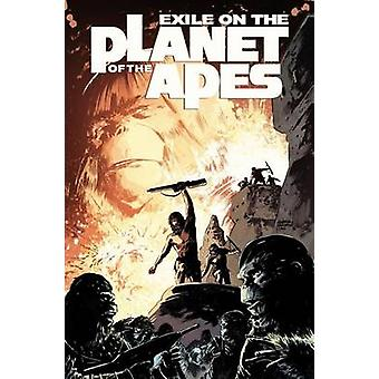 Exile on the Planet of the Apes by Gabriel Hardman - Corinna Sara Bec
