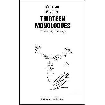 Cocteau - dreizehn Monologe von Jean Cocteau - Georges Feydeau - 9781