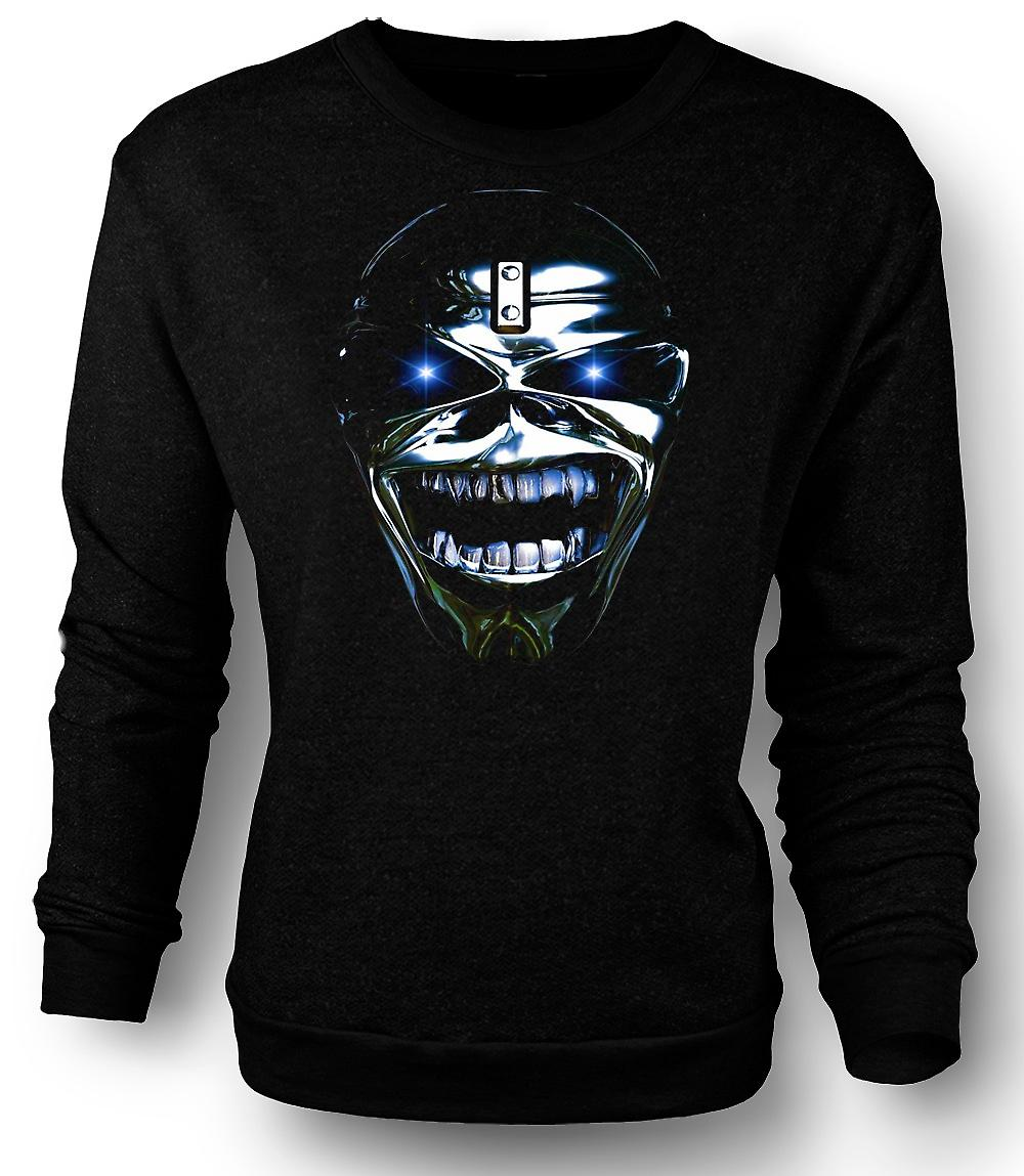 Mens Sweatshirt Iron Maiden - Eddie Head