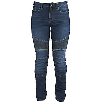 Furygan Blue Purdey Womens Motorcycle Jeans