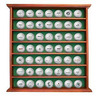 Deluxe en bois Golfbalrek pour 49 balles de golf