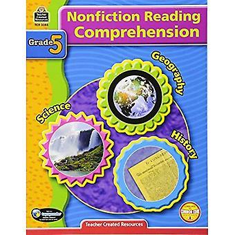 Nonfiction Reading Comprehension: Grade 5