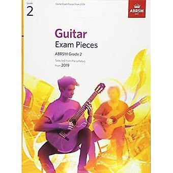 Gitarr-examen bitar från 2019, ABRSM grad 2