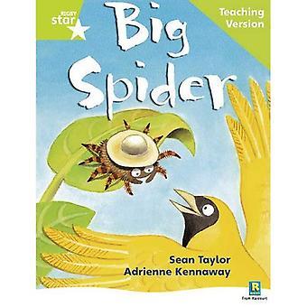 Big Spider: Teaching Version: Teaching Version Green level (Rigby Star)