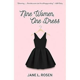 Nio kvinnor, en klänning