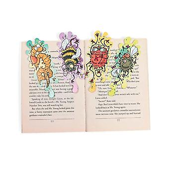 24 Squashed Bug Card Bookmark Party Bag Fillers for Kids