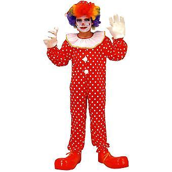 Rolig Clown barn kostym