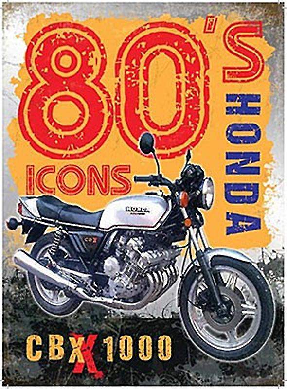 Honda CBX 1000 small metal sign  (og 2015)