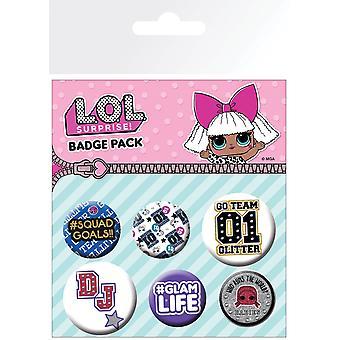 L.O.L. Surprise Mix Badge Pack