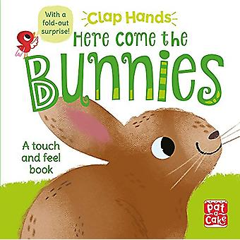 Clap Hands - Here Come the Bunnies - A touch-and-feel board book with a
