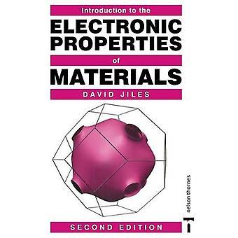 Einführung in die elektronischen Eigenschaften der Materialien 2. Auflage von Jiles & David C.