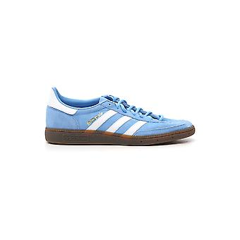 Adidas Light Blue/white Suede Sneakers