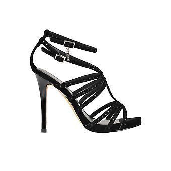 Liu Jo Black Suede Sandals