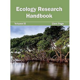 Ekologi forskning handbok volym III av sidan & Liam