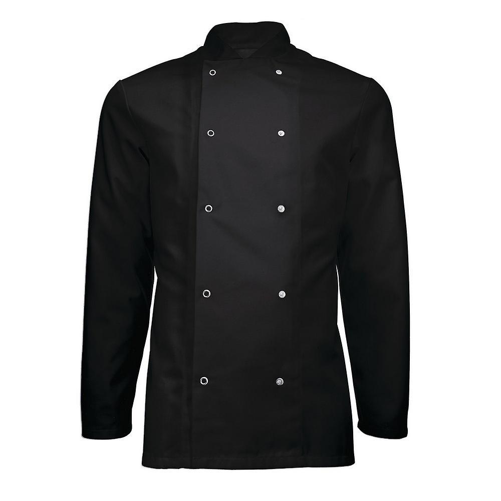 Alexandra Adults Unisex Long Sleeve Chefs Jacket (Pack of 2)