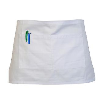 Absolute Apparel Adults Workwear Waist Apron With Pocket (Pack of 2)