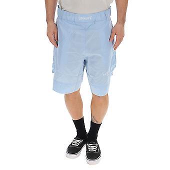 Ih Nom Uh Nit Light Blue Nylon Shorts