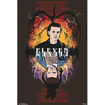 Stranger Things Eleven Maxi Poster