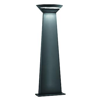 Mississippi Outdoor Led Semi-cricle Post 800mm Height - Dark Grey