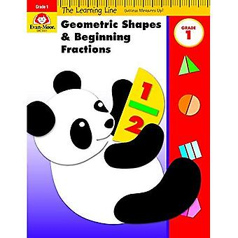 Geometriska former & början fraktioner, grad 1 (inlärnings linje)