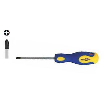 Mercatools Phillips skrutrekker Mt Ph0-60 (DIY, verktøy, Handtools)