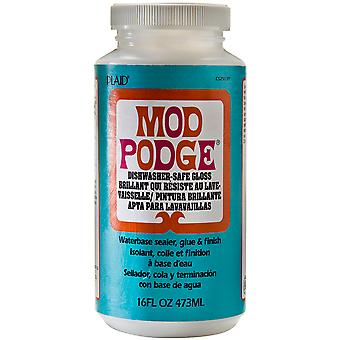 Mod Podge Dishwasher Safe 16Oz Gloss Cs25139
