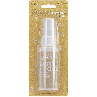 Tumble Dye Craft And Fabric Glitter Spray 2Oz Gold Td6 1 77