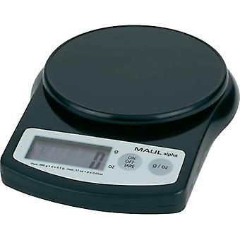 Maul MAULalpha 500GParcel scales Weight range bis 0.5 kg