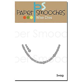 Paper Smooches Die-Swag M1D315