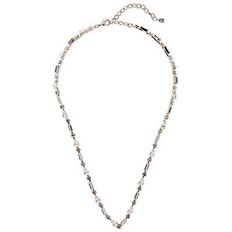 Martine Wester Crystal V-Shaped Necklace