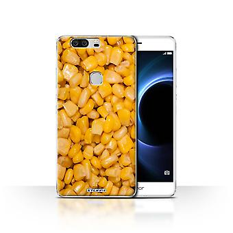 STUFF4 Case/Cover for Huawei Honor V8/Sweetcorn/Food